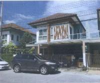 บ้านแฝดหลุดจำนอง ธ.ธนาคารกรุงไทย คลองขวาง ไทรน้อย นนทบุรี